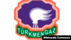 """""""Türkmengaz"""" döwlet konserniniň logosy"""