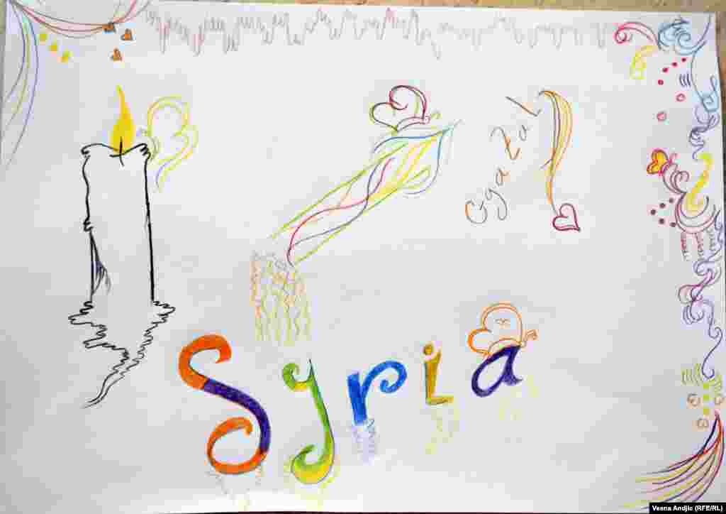 By Cgazal, 6, from Syria