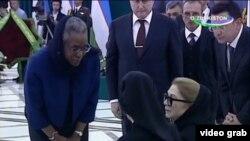 Посол США в Узбекистане Памела Спратлен приносит свои соболезнования супруге и дочери покойного президента Ислама Каримова.