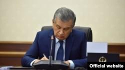 Президент Шавкат Мирзияев.