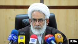 FILE - Mohamad Jafar Montazeri, Attorney General of Iran, 2019