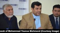 د افغانستان د سوداګرۍ او پانګونې خونې لومړی مرستیال محمد یونس مهمند