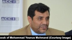 محمدیونس مهمند معاون اتاق تجارت و سرمایهگذاری
