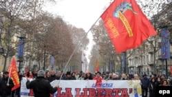 Demonstrata të mëparshme të punëtorëve në Torino të Italisë