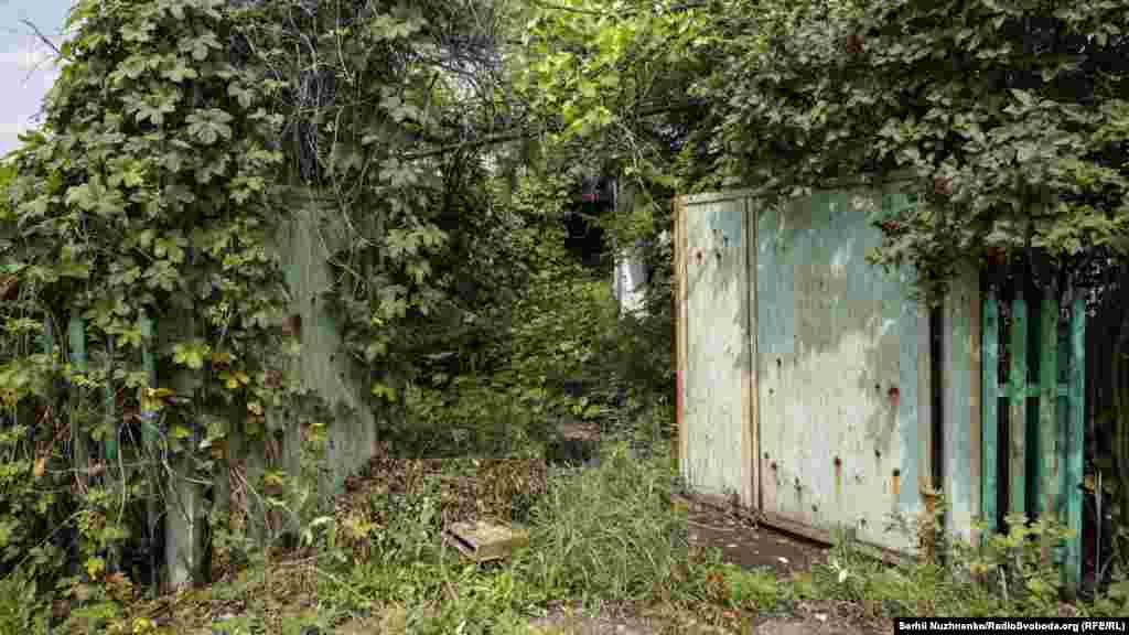 Будинки вкриваються зарослями, а село тихо зникає з лиця землі