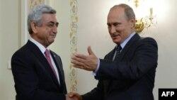 Սերժ Սարգսյան և Վլադիմիր Պուտին, արխիվ