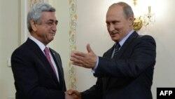 Ռուսաստանի և Հայաստանի նախագահների հանդիպումը Նովո-Օգարյովոյում, 7-ը սեպտեմբերի, 2015թ․