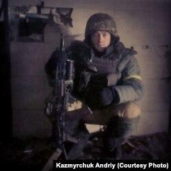 Володимир Небір у Донецькому аерпорту, грудень 2014 року. Фото Андрія Казмирчука