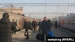 Москвага келген мигранттар