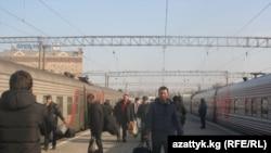 Орусиядагы кыргыз мигранты. Москва, 2013-жыл.