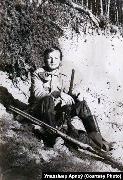 Генадзь у будаўнічым атрадзе ў Сыбіры, 1973 год