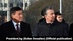 Президент Сооронбай Жээнбеков жана Фарид Ниязов. 12-январь, 2018-жыл. Бишкек.