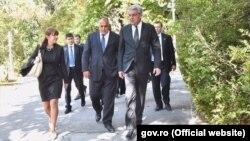 премиерите на Бугарија и на Романија Бојко Борисов и Михаи Тудосе