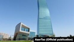 Ադրբեջանի նավթային պետական ընկերության՝ SOCAR-ի կենտրոնական գրասենյակի շենքը Բաքվում: