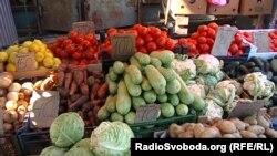 Рынок в оккупированном Донецке