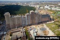 Будаўніцтва шматфункцыянальнага комплексу кампаніяй «Дана Астра»