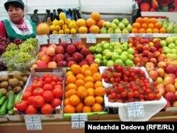 Цены на овощи и фрукты в Петропавловске-Камчатском