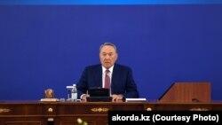 Президент Казахстана Нурсултан Назарбаев, 5 апреля 2018 года
