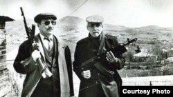 İsmayıl Şıxlı və Yusif Səmədoğlu Qazaxda