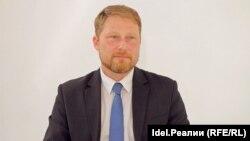 Заступник голови руху «Відкрита Росія», координатор відділення руху в російському Татарстані Ілля Новиков