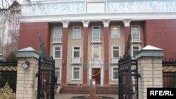 Кыргызстандын мурдагы Конституциялык сотунун имараты, Бишкек.