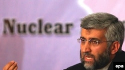 Iran's chief nuclear negotiator Said Jalili