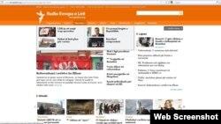 Novi dizajn stranice na albanskom jeziku