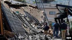 Japoni - Pamje pas tërmetit, 15 prill 2016