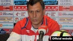 Хаким Фузайлов, главный тренер сборной Таджикистана по футболу