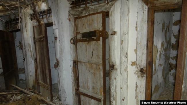 Штрафной изолятор в одном из лагпунктов