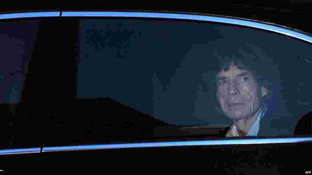 Мік Джагер, Лондон, 18 жовтня 2012 року