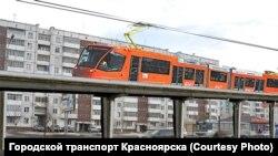 Проект наземной части красноярского метро