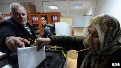 Në zgjedhjet e organizuara nga institucionet e Kosovës, votuan edhe serbët e Graçanicës.