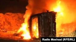 A car bomb in Balochistan. (file photo)