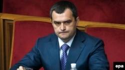 Former Interior Minister Vitaliy Zakharchenko was one of those sanctioned.