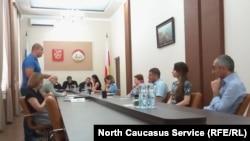 Слушание в Конституционном суде РСО-А, 6 июля 2018 г.