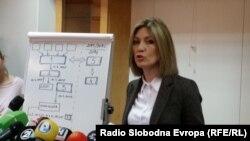 Архива - Обвинителката Ленче Ристоска.