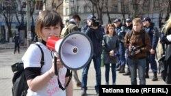 Moldovada anti-seksist nümayiş