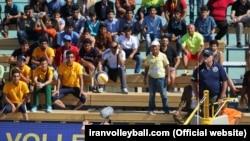 مسابقات جهانی والیبال ساحلی در جزیره کیش در حال برگزاری است.