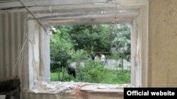 """После взрыва в офисе """"Батькивщины"""" (Сумы, 4 июля 2015 года)"""