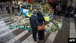 Стокгольм после теракта. Архивное фото