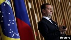 Дмитрий Медведев, премьер-министр России. Бразилия, 20 февраля 2013 года.