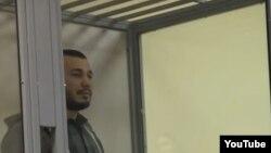 Акбаралі Абдуллаєв у залі суду в Києві, лютий 2017 року