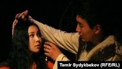 Кыргыз театры (Иллюстрация)