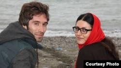 Иранские активисты и супруги Араш Садехи (слева) и Горлох Эбрахими.