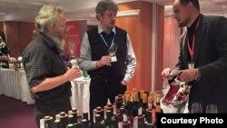 Выставка молдавского вина в Праге