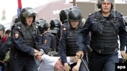 Задержания в Москве 12 июня 2017 года. Архивное фото