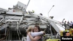 Разрушения в новозеландском городе Крайстчерч