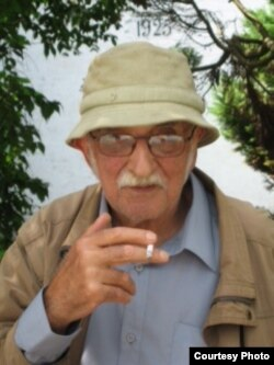 Александр Пятигорский в Дании, 2007. Фото Людмилы Пятигорской