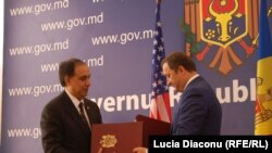 Asif Chaudhry şi Vlad Filat